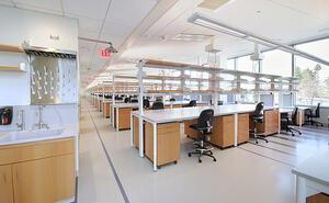 New England Lab recieves AGC Build New England Merit Award for UMass Albert Sherman