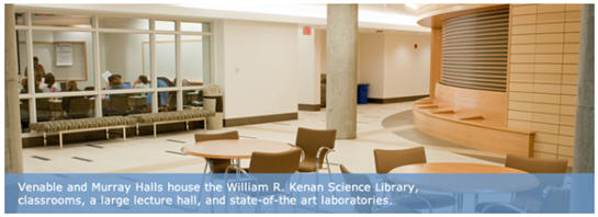 UNC Kenan Labs Renovations Give a Fresh Look to Innovation
